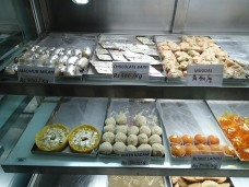Indian sweets. Makes my teeth hurt just looking at them.