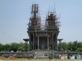 Monastery under construction. Cambodian I think?