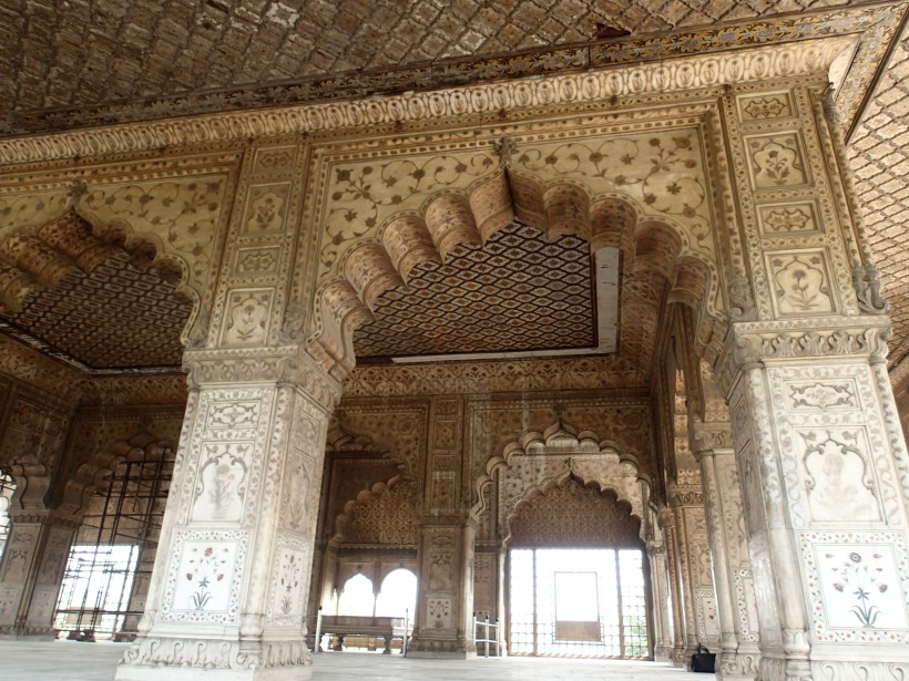 Diwan-i-Khas, Where He Chilled In Opulent Privacy
