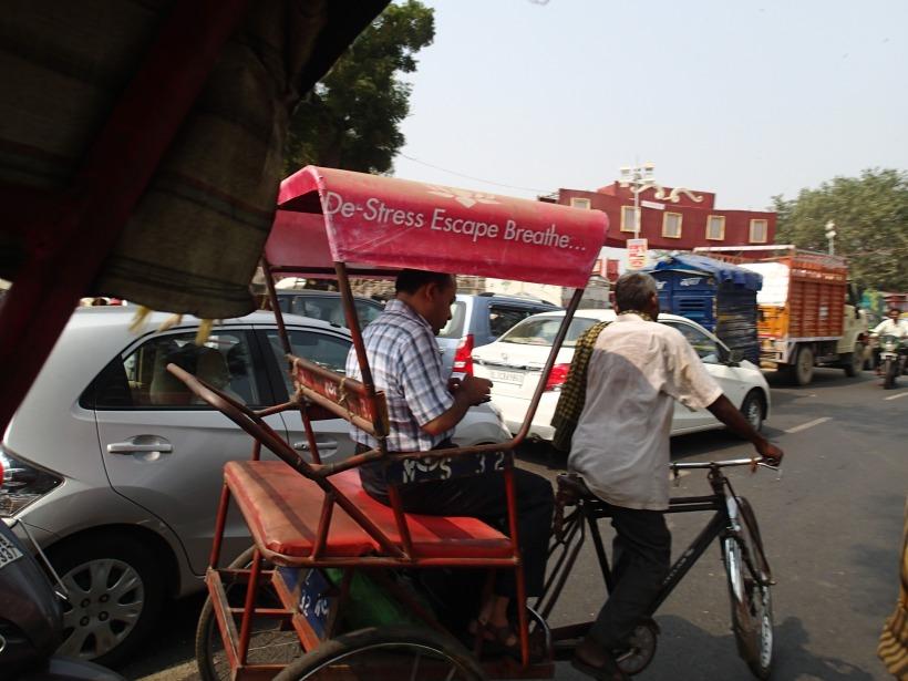Sod Being A Cycle Rickshaw Wallah