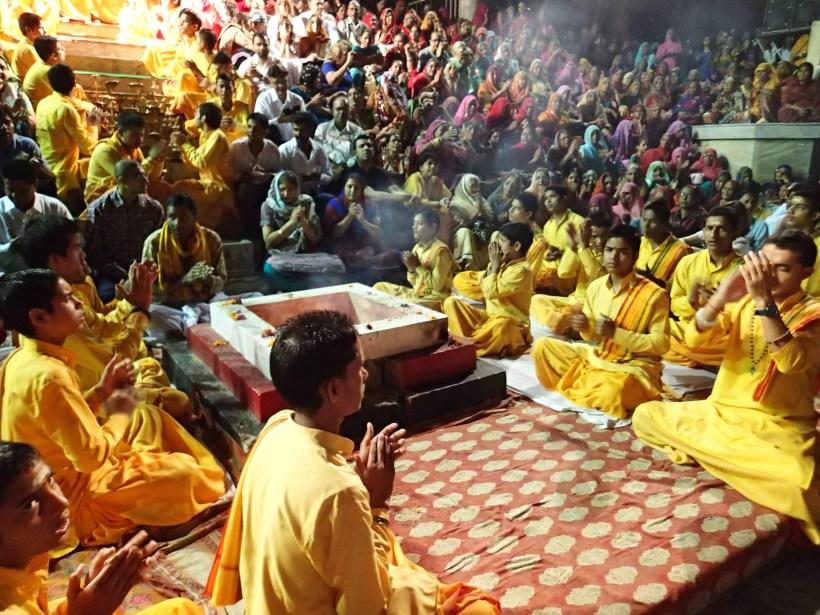Ganga Aarti At Parmarth Niketan Ashram