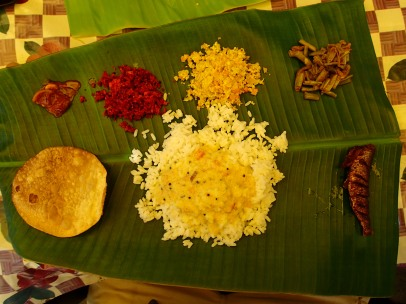 And it was about this point that I basically fell in love with the south Indian thali.