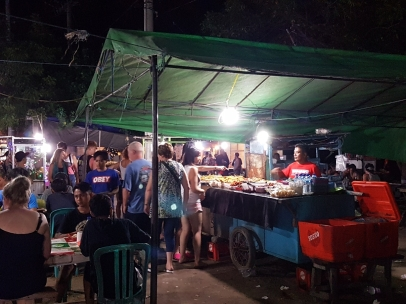 One of the stalls at the night food market on Gili T. This place has everything your digestive system could ever desire.