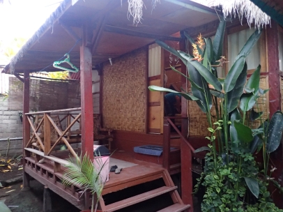 This is where we lived at Bambu Homestay.